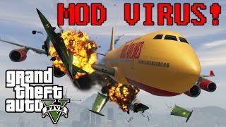 GTA V Malware Hack - Angry Planes - NoClip mod