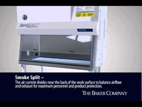 Baker Class II, Type A2 Biosafety Cabinet - How it works - YouTube