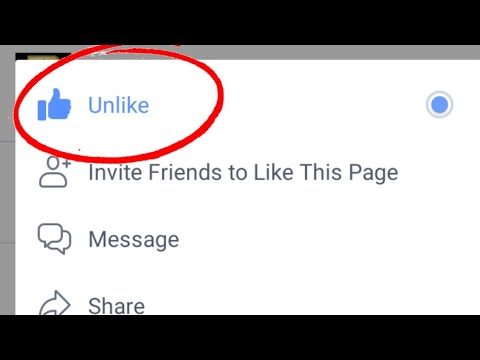 How To Unlike/Unfollow All Facebook Pages At Once