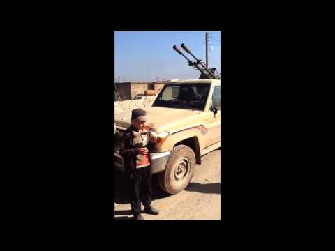 Syria, Northern Aleppo Video from Al-Zahraa  that was under siege for 3 years, 6 Months.