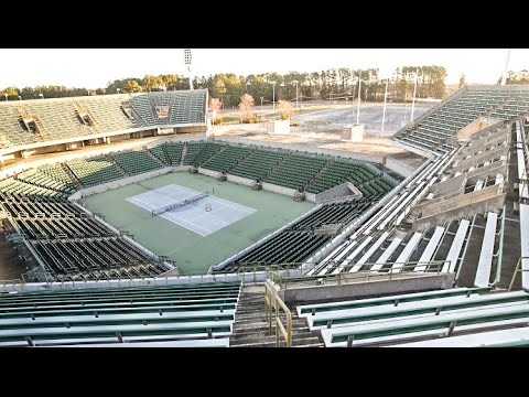 ABANDONED OLYMPIC TENNIS STADIUM!!
