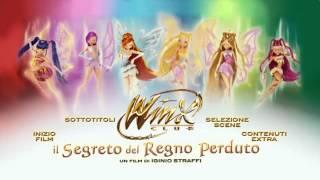 Menu DVD Winx Club il Segreto del Regno Perduto