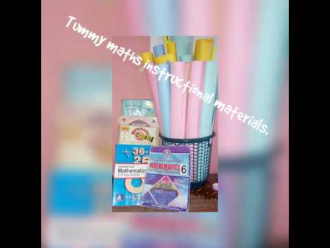Mathematics Instructional Materials For Children In Primary Youtube