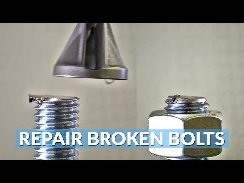 This Tool Repairs Broken and Rusted Bolts