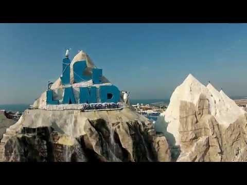 Ice land United Arab emirates Flight of the Drone