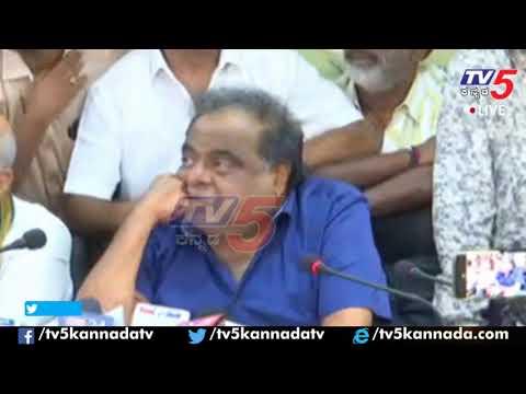 Ambareesh First Reaction on Shruthi Hariharan and Arjun Sarja Metoo Issue | KFCC | TV5 Kannada
