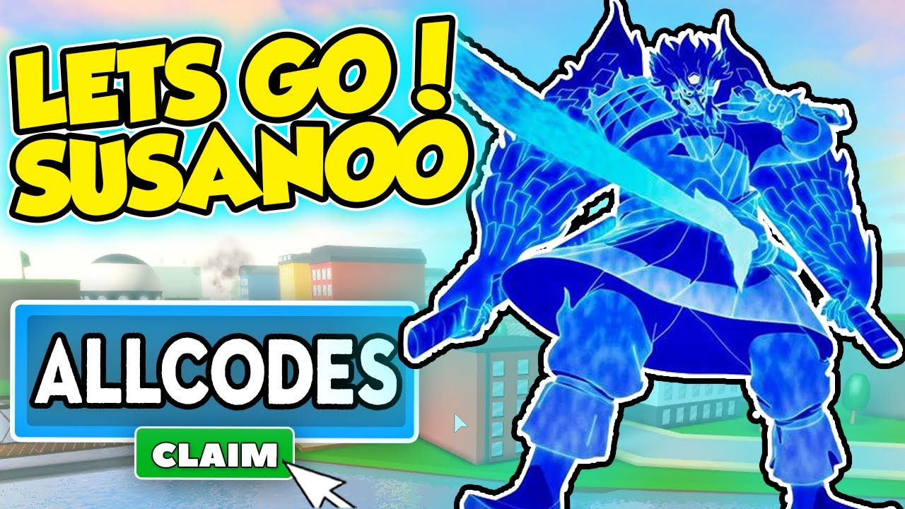 TIME FOR SUSANOO - ALL ANIME FIGHTING SIMULATOR CODES - Roblox Anime Fighting Simulator