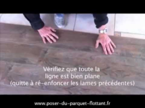 clipser du parquet flottant stratifi youtube. Black Bedroom Furniture Sets. Home Design Ideas