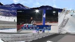 Sochi 2014   Das Olympia Skispringen der Damen auf der normal Schanze