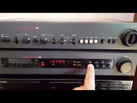 NAD 4300 Stereo Tuner and NAD 1300 Pre Amp