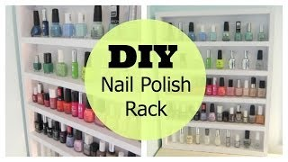 Diy Nail Polish Rack | Shawna Paterson
