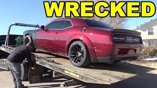 Dodge Dealership Admits to WRECKING my HELLCAT, Gives me a $400 CHECK for $20,000 in DAMAGE