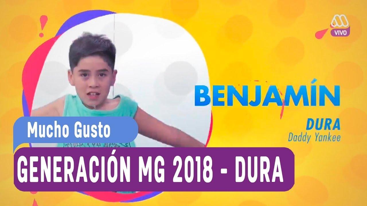 Generación MG 2018 - Ranking de canciones - Dura