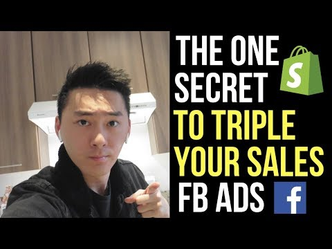 This Secret Facebook Ads Hack Will TRIPLE Your Sales | Shopify Dropshipping 2019 thumbnail