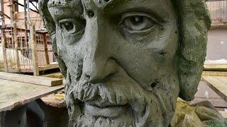 Памятник князю Владимиру в мастерской скульптора(, 2015-05-28T14:47:18.000Z)