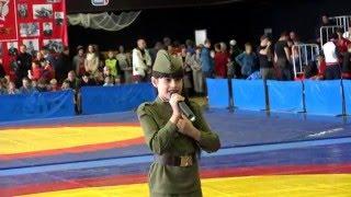 Чудесный голос Дианы * ВОЕННАЯ ПЕСНЯ * Тольятти 2015