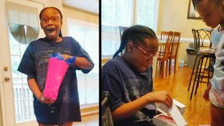 12-Year-Old Girl Bursts Into Tears After Getting iPhone