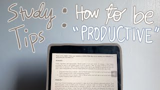 HOW I STUDY EFFECṪIVELY (study tips from a lazy accountancy student) ♡