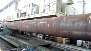 Крупнейший в мире токарный станок 1 часть