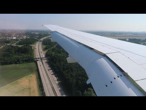 Cityjet Sukhoi Superjet 100-95B landing in Hannover!