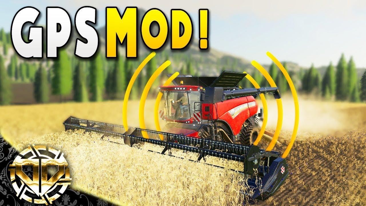 GPS MOD : NO HANDS NEEDED - Farming Simulator 19 Gameplay - EP 9
