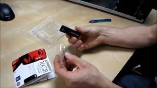 Kingston Datatraveler Locker+ 16GB USB Key Thumb Drive Unboxing & First Look Linus Tech Tips