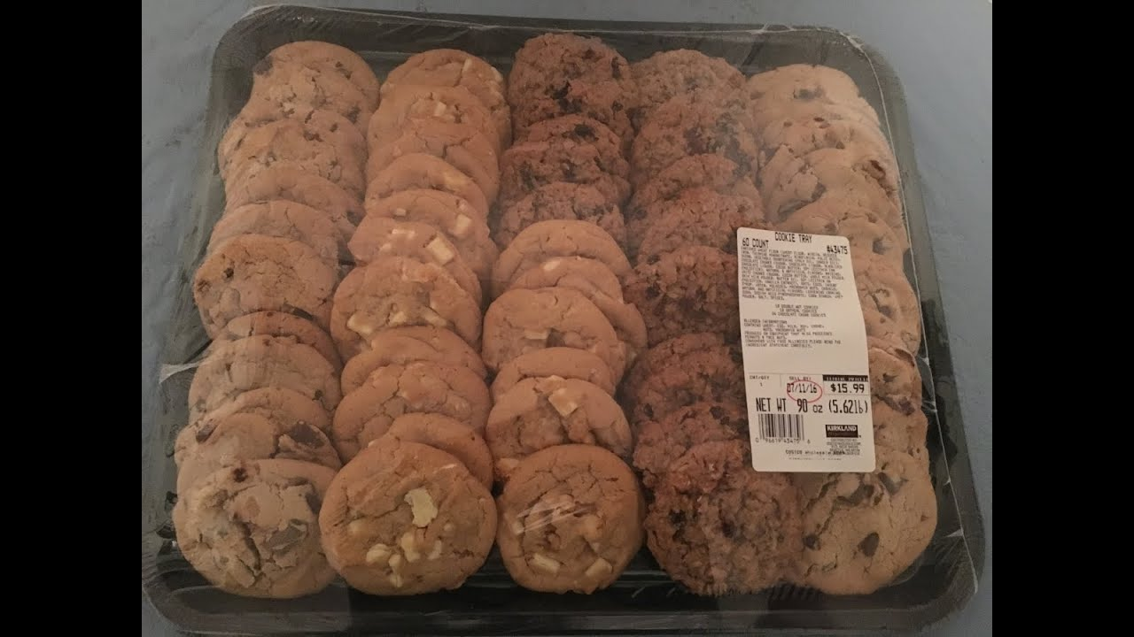 Costco S Entire Cookie Tray Challenge
