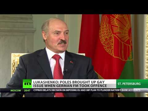 'No handover, Belarus should choose the leader it wants' - President Lukashenko (RT EXCLUSIVE)