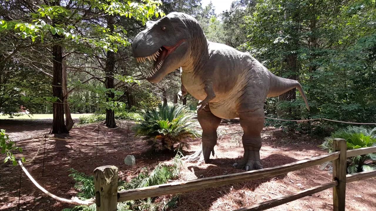 T Rex At Huntsville Botanical Garden