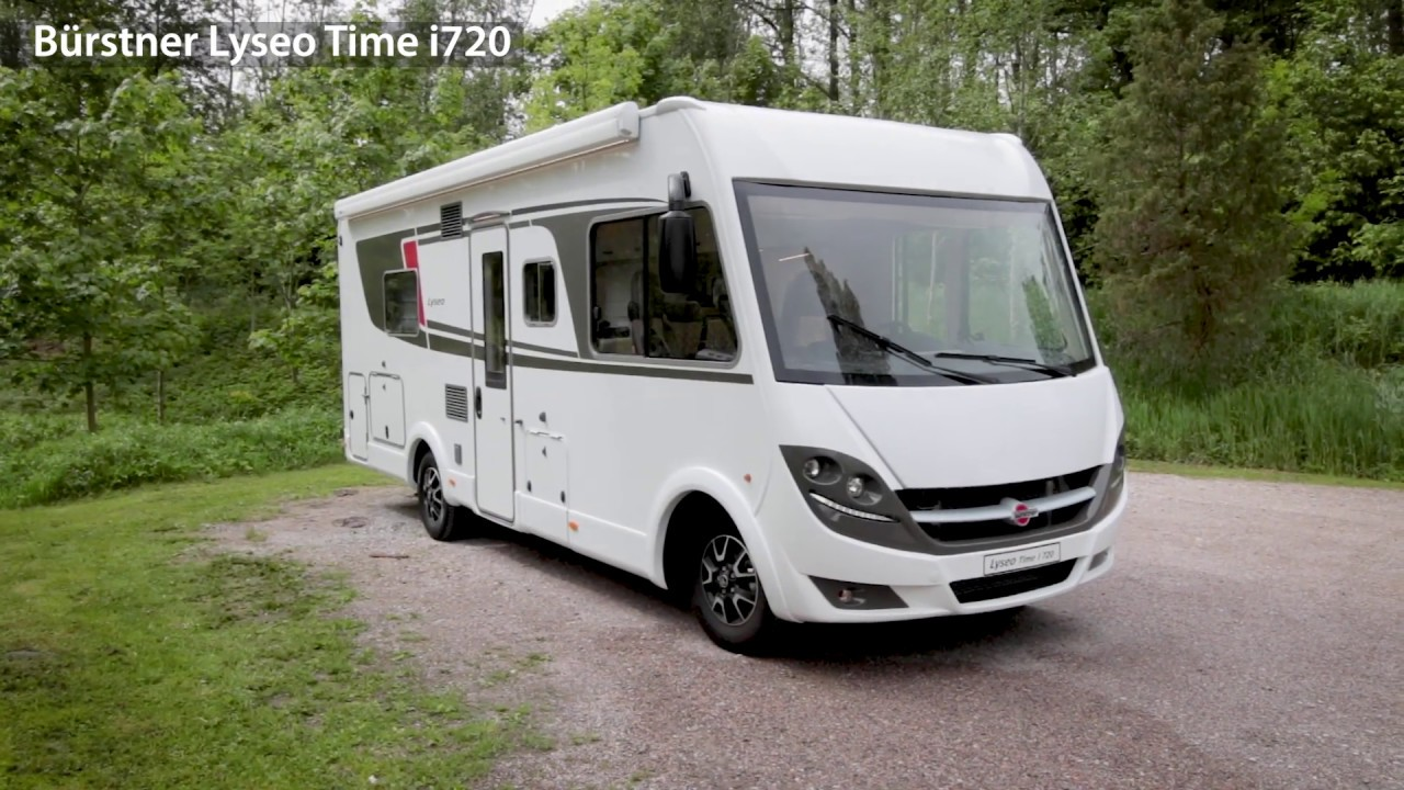 Burstner 2019 Lyseo I720 By Campingsverigetv