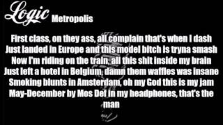 Logic - Metropolis Lyrics