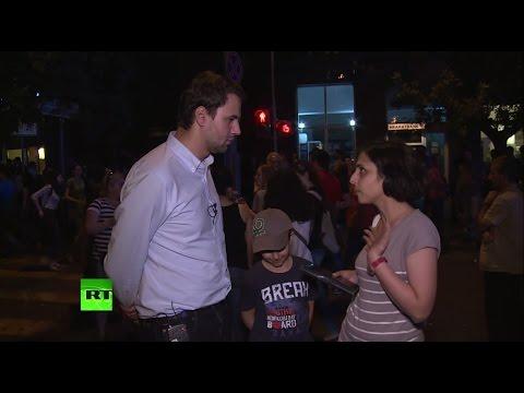 Демонстранты в Ереване: Нам не по карману нынешние тарифы на электроэнергию