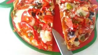 Tavada pizza pratik pizza