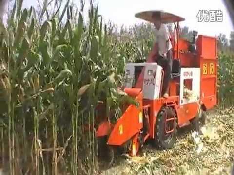 Corn Harvester Hd Mp4 Youtube