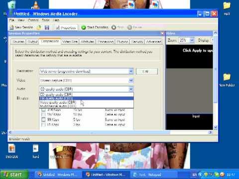 Windows Media Encoder