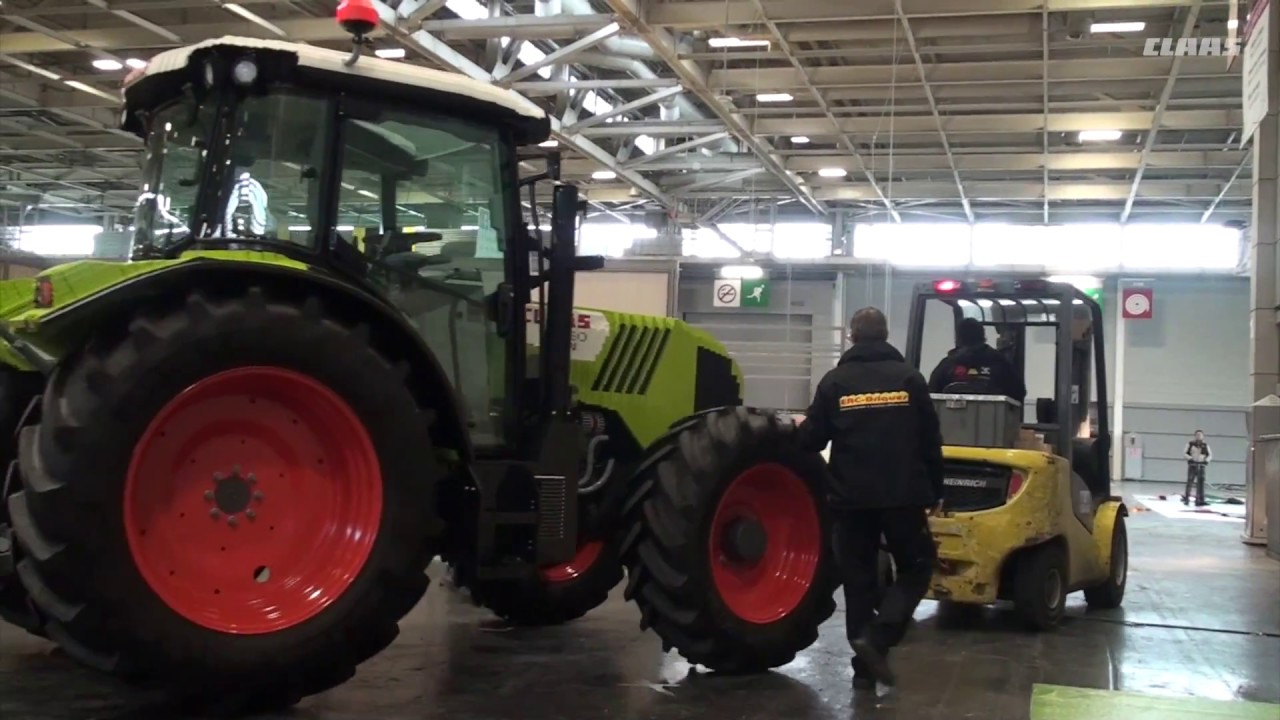 Pr paration claas au salon de l 39 agriculture 2017 youtube - Salon de l agriculture machine agricole ...