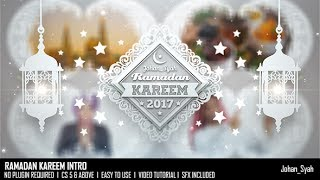 Ramadan Kareem Intro | After Effects template | envato market videohive logo reveal