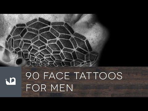 90 Face Tattoos For Men