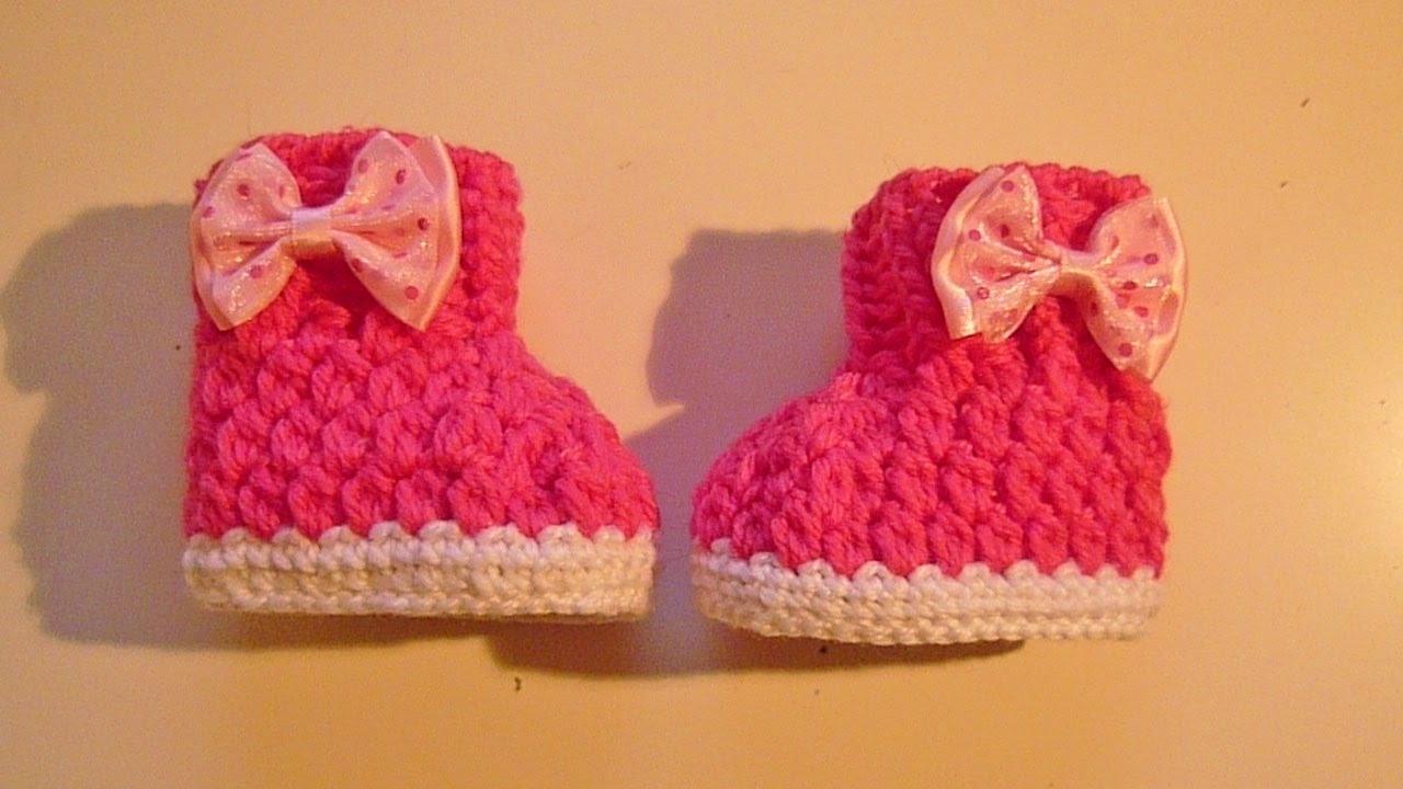 Babyboots Häkeln Babyschuhe Crochet Boots Schuhe Baby Babysocke