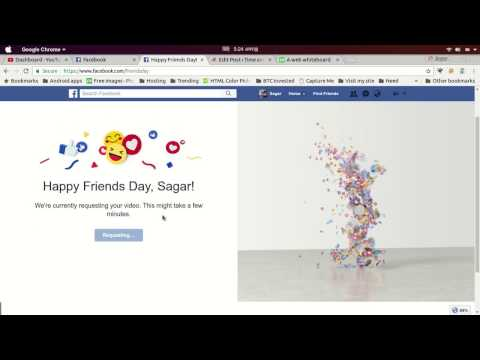 How to Create Friends Day Video on Facebook from YouTube · Duration:  47 seconds