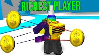BECOMING THE RICHEST PLAYER MIT dem BESTEN MAGNET (Roblox Magnet Simulator)