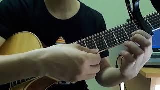Hướng Dẫn  GẶP MẸ TRONG MƠ Guitar Solo Bài siêu Ngắn, Siêu Level 1 cho Ae mới chơi