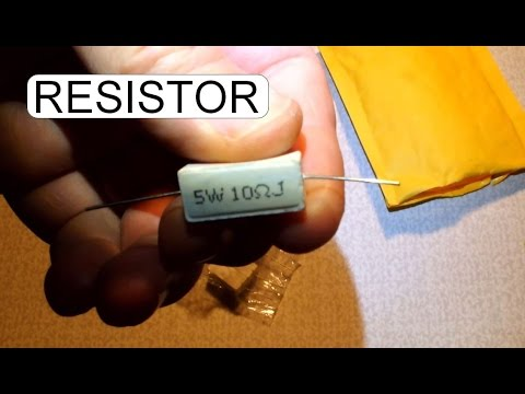 UNBOXING CEMENT RESISTOR 5W 10 OHM
