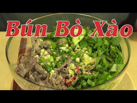 BÚN BÒ XÀO - Cách Làm Bún Bò Xào Sả Ớt Ăn Với Nước Mắm Chua Ngọt Ngon Khỏi Chê - By Nguyễn Hải