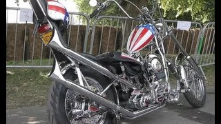 Peter Fonda and the Captain America Bike