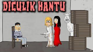 Diculik Hantu Rumah Kosong | Animasi Horor Kartun Lucu | Warganet Life
