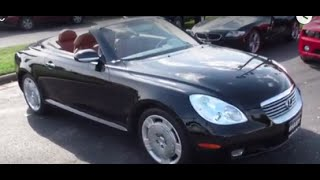 2003 Lexus SC430 Walkaround, Start up, Tour and Overview