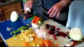 Шинковка универсальная (терка) для моркови по-корейски(Обзор новгородской шинковки универсальной. Шинкует и нарезает, делает морковь по-корейски. Шинкует капусту..., 2015-06-11T08:47:39.000Z)