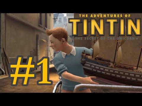 Прохождение Приключение Тинтина [#1 Всё Начинается!]