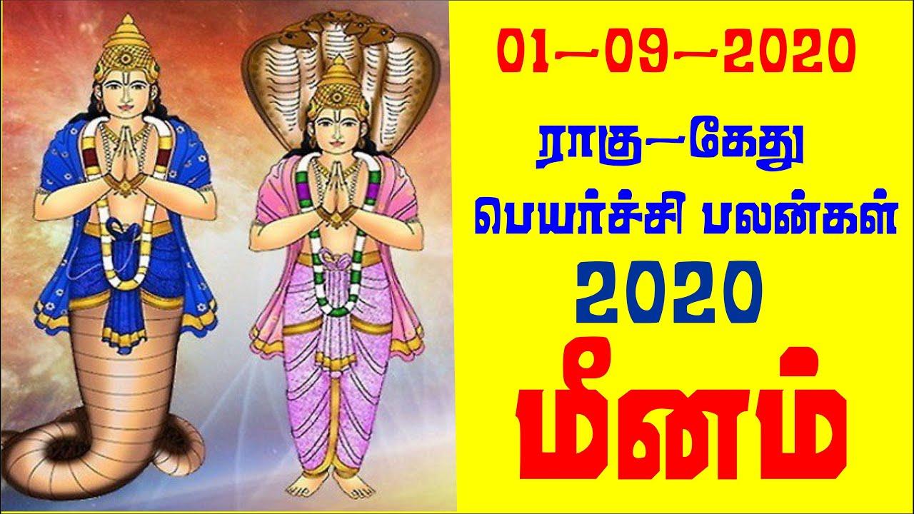 மீனம் | 2020 ராகு -கேது பெயர்ச்சி பலன்கள்  | meenam rasi  2020 rahu -ketu peyarchi palangal